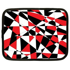 Shattered Life Tricolor Netbook Sleeve (xl) by StuffOrSomething