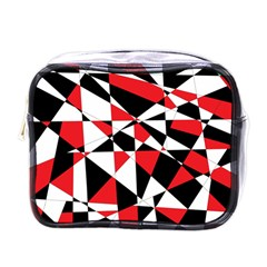 Shattered Life Tricolor Mini Travel Toiletry Bag (one Side) by StuffOrSomething