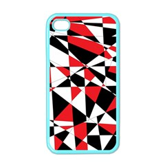 Shattered Life Tricolor Apple Iphone 4 Case (color) by StuffOrSomething