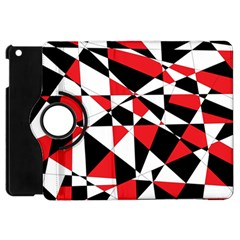 Shattered Life Tricolor Apple Ipad Mini Flip 360 Case by StuffOrSomething
