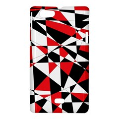 Shattered Life Tricolor Sony Xperia Miro Hardshell Case  by StuffOrSomething