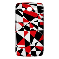 Shattered Life Tricolor Samsung Galaxy Mega 5 8 I9152 Hardshell Case  by StuffOrSomething