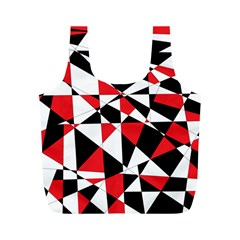 Shattered Life Tricolor Reusable Bag (m) by StuffOrSomething