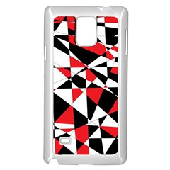 Shattered Life Tricolor Samsung Galaxy Note 4 Case (white) by StuffOrSomething