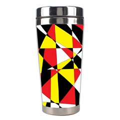 Shattered Life With Rays Of Hope Stainless Steel Travel Tumbler by StuffOrSomething