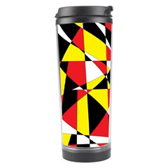 Shattered Life With Rays Of Hope Travel Tumbler by StuffOrSomething