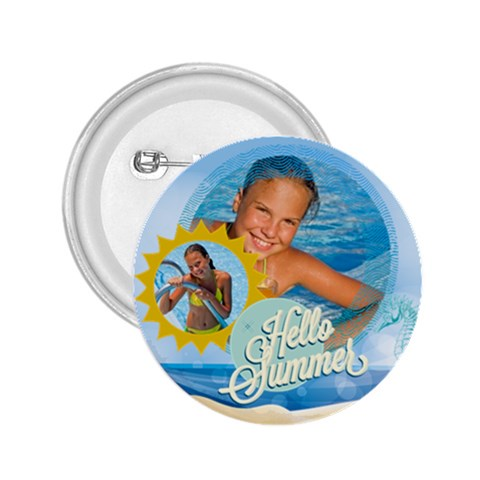 Summer By Summer Time    2 25  Button   Swo7yzguqy8j   Www Artscow Com Front