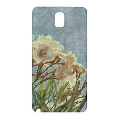 Floral Grunge Vintage Photo Samsung Galaxy Note 3 N9005 Hardshell Back Case