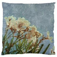 Floral Grunge Vintage Photo Standard Flano Cushion Case (one Side) by dflcprints