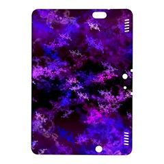 Purple Skulls Goth Storm Kindle Fire HDX 8.9  Hardshell Case by KirstenStar