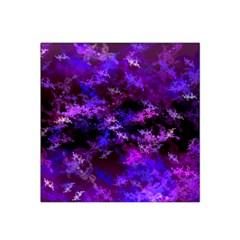 Purple Skulls Goth Storm Satin Bandana Scarf by KirstenStar