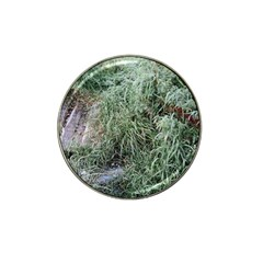 Rustic Grass Pattern Golf Ball Marker 10 Pack (for Hat Clip) by ansteybeta