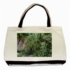 Rustic Grass Pattern Classic Tote Bag by ansteybeta