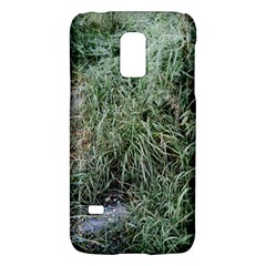 Rustic Grass Pattern Samsung Galaxy S5 Mini Hardshell Case