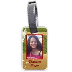 Lt Charlotte Mapp By Beverly A  Terrell   Luggage Tag (two Sides)   3heao2vcpwah   Www Artscow Com Back