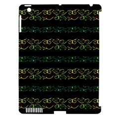 Modern Lace Stripe Pattern Apple Ipad 3/4 Hardshell Case (compatible With Smart Cover) by dflcprints