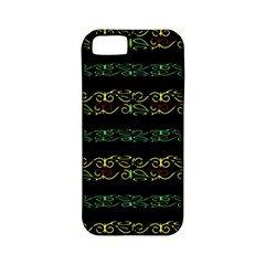 Modern Lace Stripe Pattern Apple Iphone 5 Classic Hardshell Case (pc+silicone) by dflcprints