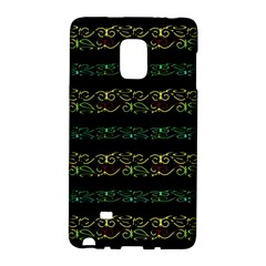 Modern Lace Stripe Pattern Samsung Galaxy Note Edge Hardshell Case