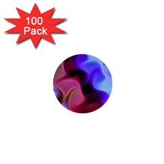 Rippling Satin 1  Mini Button (100 Pack) by KirstenStar