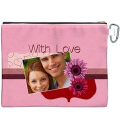 Love By Joely   Canvas Cosmetic Bag (xxxl)   Xsl3yefo0lut   Www Artscow Com Back