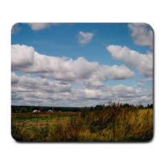 Rural Landscape Large Mouse Pad (Rectangle) by ansteybeta