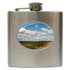 Rural Landscape Hip Flask by ansteybeta