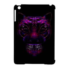 Creepy Cat Mask Portrait Print Apple Ipad Mini Hardshell Case (compatible With Smart Cover) by dflcprints