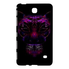 Creepy Cat Mask Portrait Print Samsung Galaxy Tab 4 (7 ) Hardshell Case