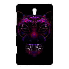 Creepy Cat Mask Portrait Print Samsung Galaxy Tab S (8 4 ) Hardshell Case  by dflcprints