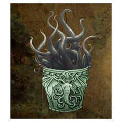 Monstercupbag Small By Dean   Drawstring Pouch (small)   Ytsfd9itrf58   Www Artscow Com Front