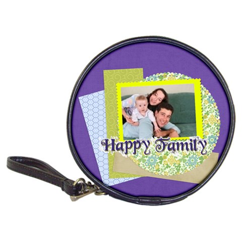 Family By Joely   Classic 20 Cd Wallet   6sanmol8w0jt   Www Artscow Com Front
