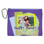 family - Canvas Cosmetic Bag (XXL)