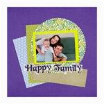 family - Medium Glasses Cloth (2 Sides)