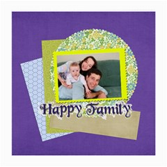 Family By Joely   Medium Glasses Cloth (2 Sides)   5qts5r1fqqii   Www Artscow Com Back