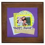 family - Framed Tile