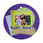 family - Ornament (Round)