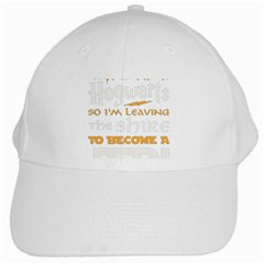 Howarts Letter White Baseball Cap by empyrie