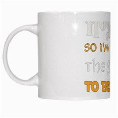 Howarts Letter White Coffee Mug by empyrie