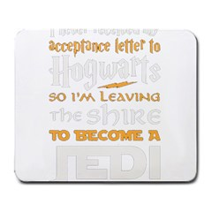 Howarts Letter Large Mouse Pad (rectangle) by empyrie