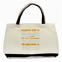 Howarts Letter Classic Tote Bag by empyrie