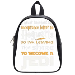 Howarts Letter School Bag (small) by empyrie