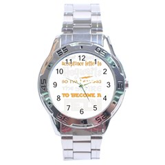 Howarts Letter Stainless Steel Watch by empyrie