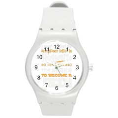 Howarts Letter Plastic Sport Watch (medium) by empyrie