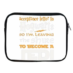 Howarts Letter Apple Ipad Zippered Sleeve by empyrie