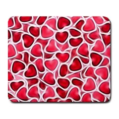 Candy Hearts Large Mouse Pad (rectangle) by KirstenStar