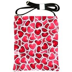 Candy Hearts Shoulder Sling Bag by KirstenStar