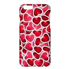 Candy Hearts Apple iPhone 6 Plus Hardshell Case by KirstenStar