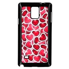 Candy Hearts Samsung Galaxy Note 4 Case (black) by KirstenStar
