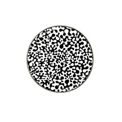 Black And White Blots Golf Ball Marker 10 Pack (for Hat Clip) by KirstenStar