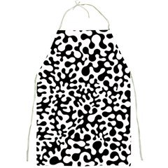 Black And White Blots Apron by KirstenStar